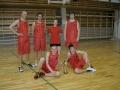 Basketbola turnīrā pirmo vietu izcīnīja viņi — Mārtiņš, Mārcis, Sintija, Eduards, Ernests un Rūdolfs.